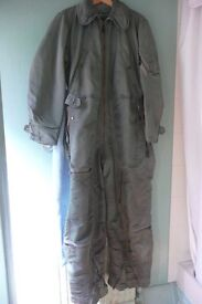 !REDUCED!! GENUINE USA AIR FORCE FLYING SUIT. IDEAL FOR RIDING A MOTORBIKE or SCOOTER ALL YEAR ROUND