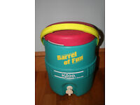 Barrel Of Fun Igloo 2 Gallon water cooler drink jug with spout