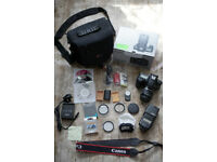 Canon 60D bundle with Lens,Flash,Filters,Case,Baterries +more@ Boxed ,excellent cond @all You need