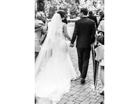 Beautiful Cathedral Length Veil with Embroidery (Ivory)