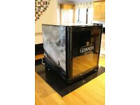 Husky Guinness Drinks Mini Fridge (Limited Edition) *Horses coming out of the surf* design