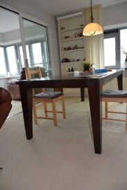 DINING table SOLID WOOD