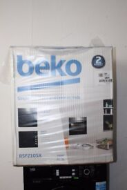 Beko Single Oven/Cooker & Hob Package BSF210SX Fully Packaged Delivery and Install Available