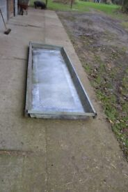 Galvanised 3m X 1M cattle and sheep foot bath
