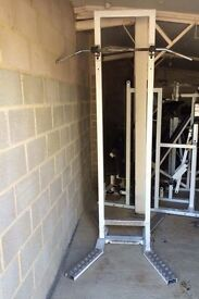 Free standing pull up bar commercial/home gym