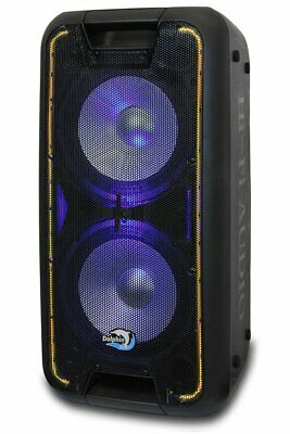 Dolphin SP-210RBT Rechargeable Karaoke Party Speaker System with Bluetooth 2400W