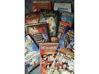 20 family childrens dvds (Disney Dreamworks etc)