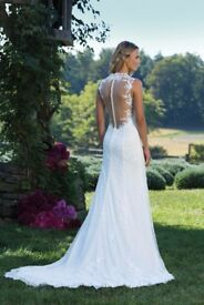 Size 10 Sincerity Bridal (Style 3885) Wedding Dress/Gown