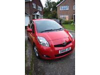 2010 Toyota Yaris 1.4 D-4D TR 3dr Red