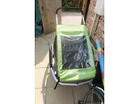 Croozer Kid for 2 Child Bike Trailer: Bicycle trailer incl. trailer kit, stroller kit, jogger kit