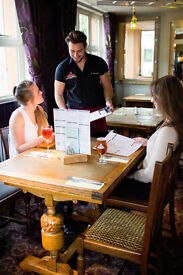 Full and Part Time Waiting Staff - Up to £7.20 per hour + tips - Jolly Farmers - Enfield, Middlesex
