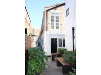 3 bed Warehouse Conversion funky warehouse with outside communal dining area