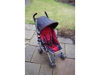 Maclaren Quest Stroller Red/Black