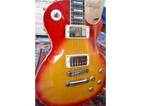 J&D Les Paul Style Guitar with Amp and Case