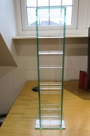 Greenapple Glass CD Rack