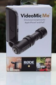 Rode VideoMicMe Directional Microphone for iPhone and iPad + Furry Wind Shield