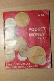 REDUCED TO ONLY £1 COIN VALUATION BOOKLET – POCKET MONEY No. 2
