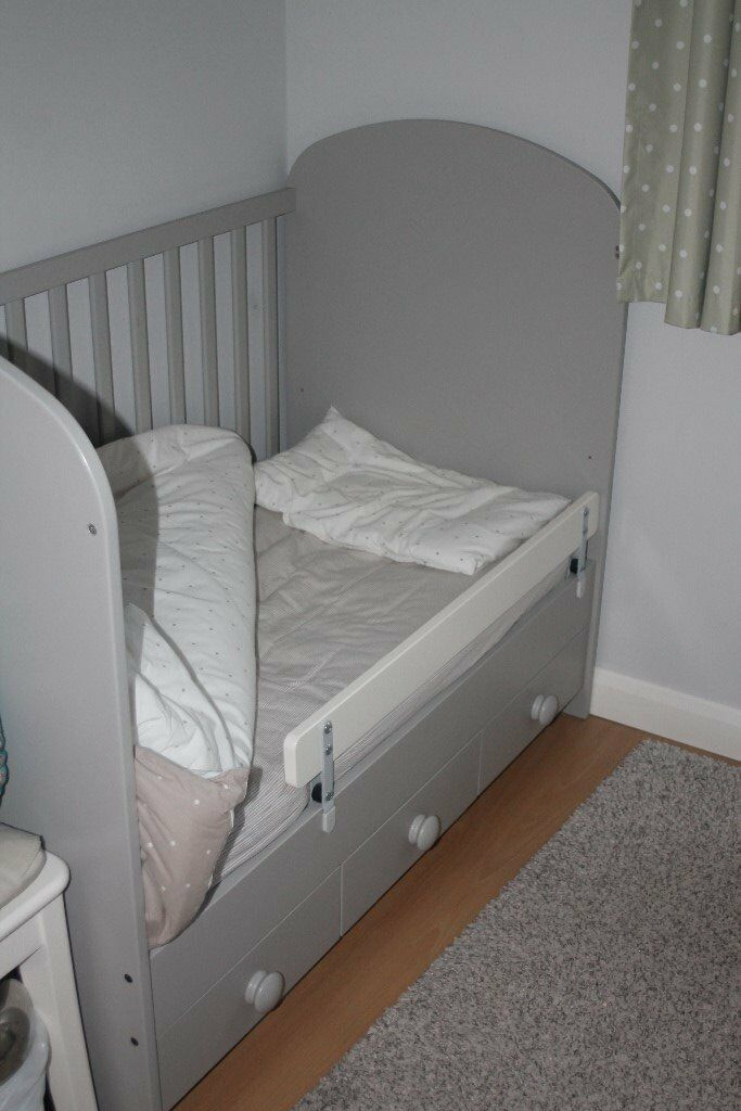 Ikea Gonatt Cot Grey In Chippenham Wiltshire Gumtree