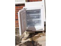 Built-in separate fridge and freezer