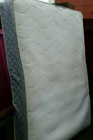 spring double mattress. 20cm thick. In good clean condition.