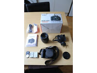 Canon 600D with Canon EFS 17-85mm lens