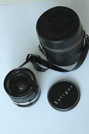 Lens Soligor 28mm 2.8 for M42 mount