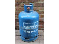 15kg Calor Butane Gas Bottle. Empty.