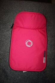 Hot pink Bugaboo Cameleon 1 and 2 Carrycot Cover / Apron canvas CAN POST