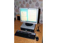 HP Compaq dc7900 Core 2 Quad Core Q9400 PC @ 2.66Ghz with Win10 Pro N, 200GB SSD Disk, 6GB Memory