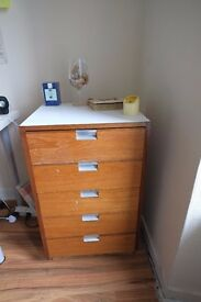 Office/ bedroom drawers chest