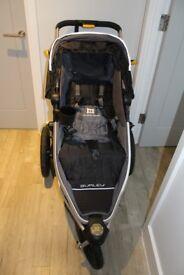Barely used BURLEY SOLSTICE jogger/pram/stroller
