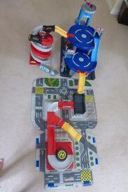 ELC Big City Garage, Carry Along and Spiral Race Ramp