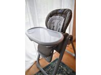 Chicco Polly Magic Relax highchair from Birth - adjustable height/seat positions