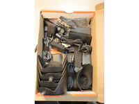Box of various parts for Sony HRV-Z5 HDV camcorder, video camera