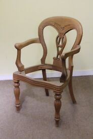 Single chair for restoration or project