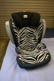 Britax Roamer Childs Car Seat Adjustable with Side Impact Cushioning