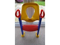 K&D KETTER TOILET TRAINER HELPS YOUR CHILD BECOME INDEPENDENT WHILST TRAINING - EXCELLENT CONDITION