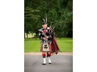 Piper for Hire - Weddings, Corporate Events,Burns Suppers,New Year Celebrations,Funerals, Birthdays