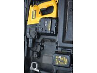 Dewalt Heavy Duty 24V Rotary Hammer drill.