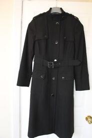Jasper Conran Ladies Coat - Size 14