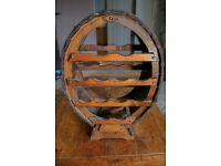 Wine Rack ~ Rustic Wooden