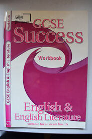 GCSE English & English Literature Workbook from Letts