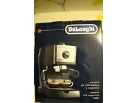 NEW COFFEE MACHINE DELONGHI EC155