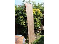 Wood slab, live edge, best table material, walnut, 220cm x 4.5cm