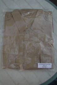 Rare Kuwait Military Police - Khaki Shirt / Jacket (Size XL)