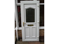 Double glazed door complete with frame