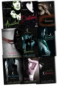 House of Night Collection 9 Books Set by P C Cast and Kristin Cast - Destined