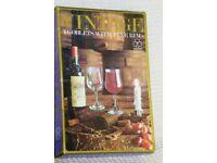 Wine Glasses, DEMA Vintage 6 Goblets with Fine Rim, Boxed, Histon