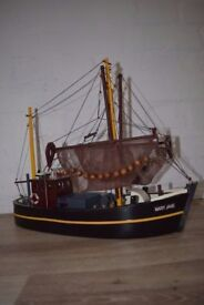 Model Of The Mary Jane Fishing Boat (DELIVERY AVAILABLE)