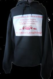 Cool Christmas funny unisex hoodie